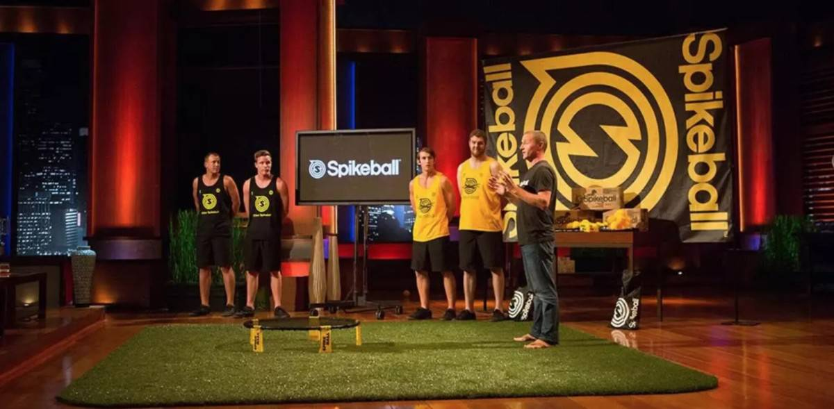 Shark tank set - When was Spikeball on Shark Tank