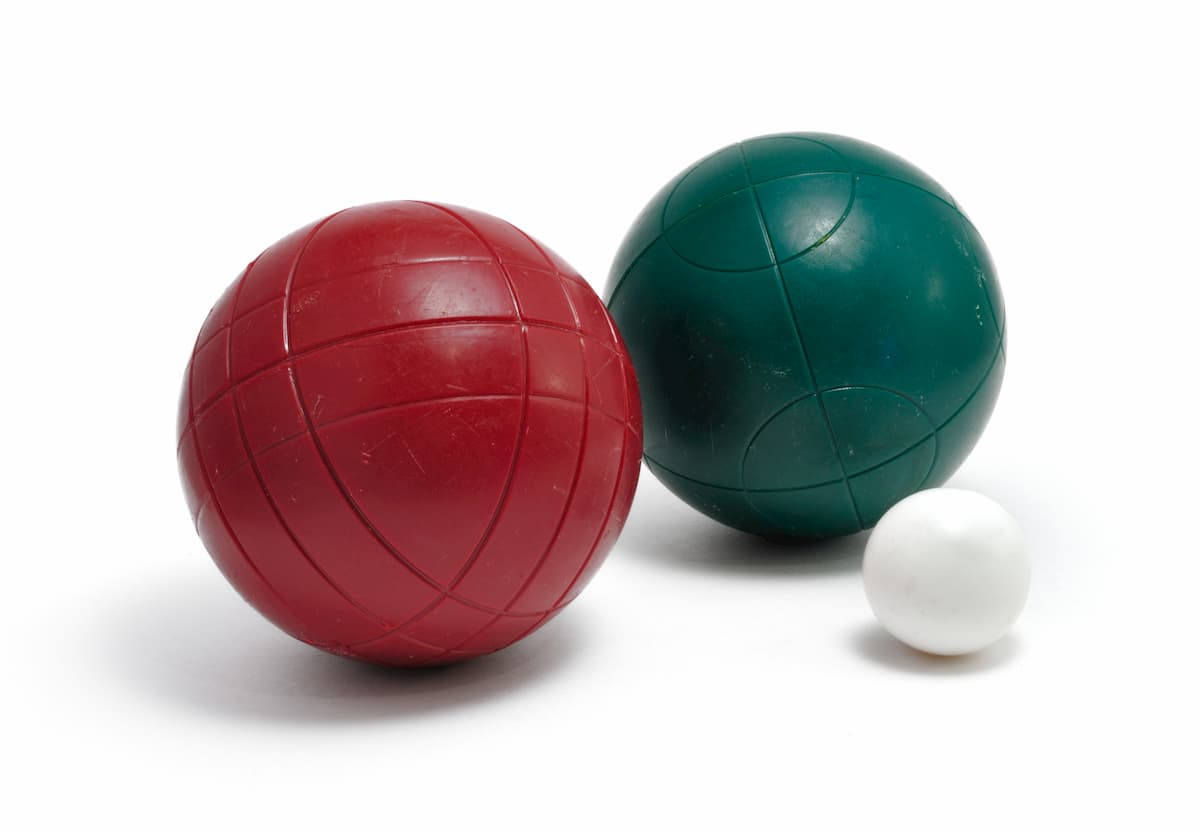 Resin Bocce Balls an example of What Are Bocce Balls Made Of