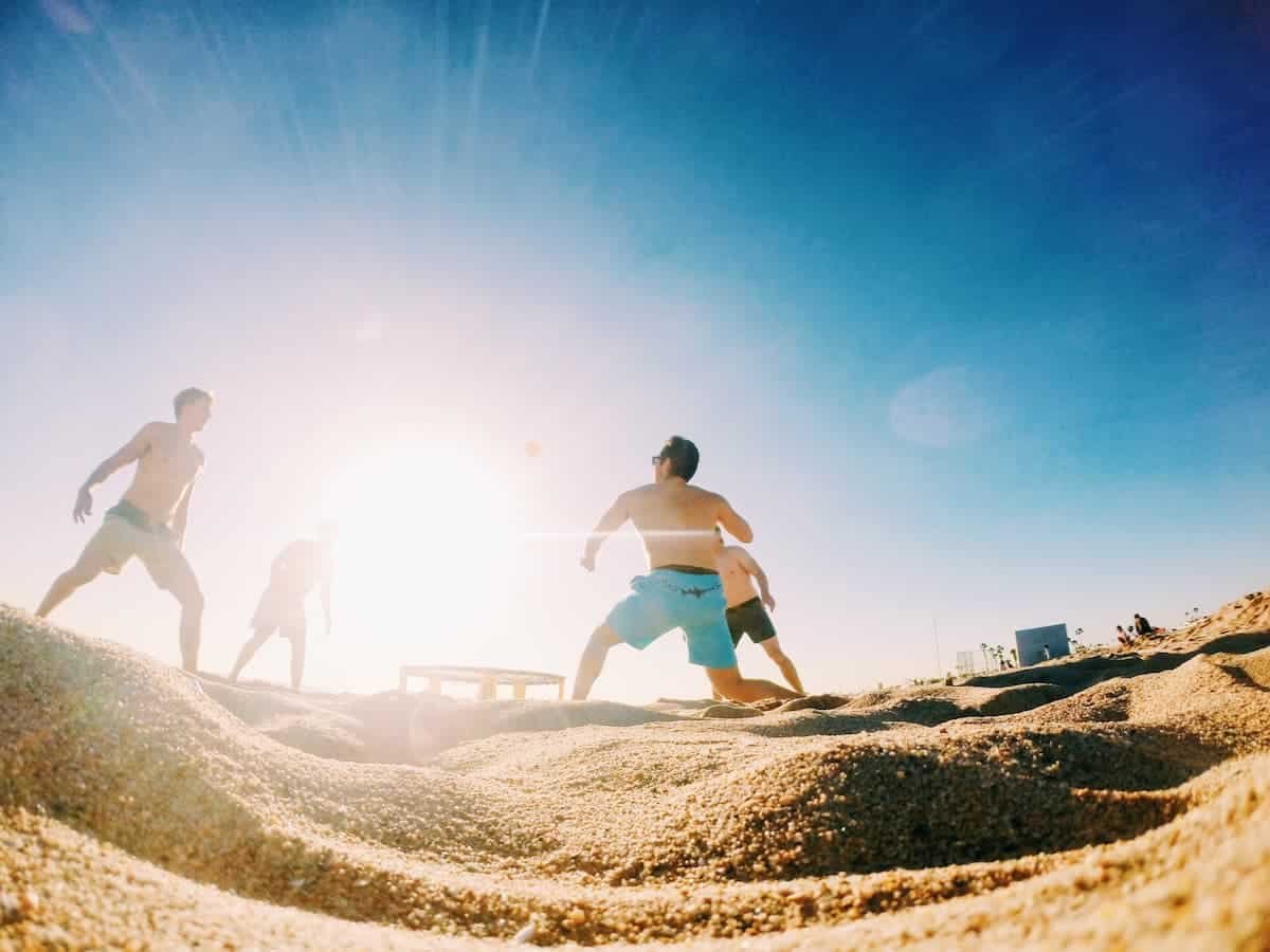 Spikeball Tips and Tricks - Sand is a different beast to play on
