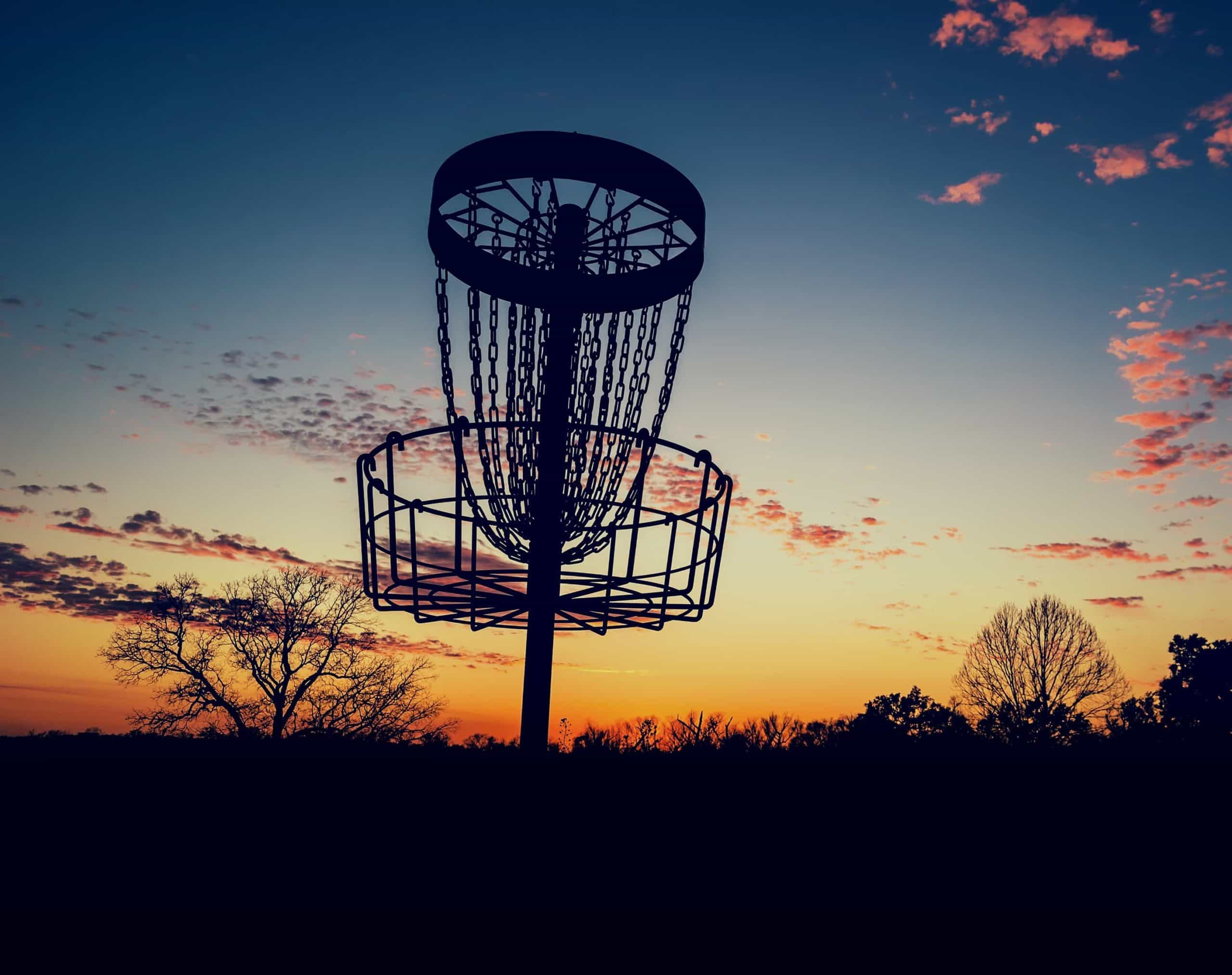 What If My Disc Lands On Top Of The Basket In Disc Golf?