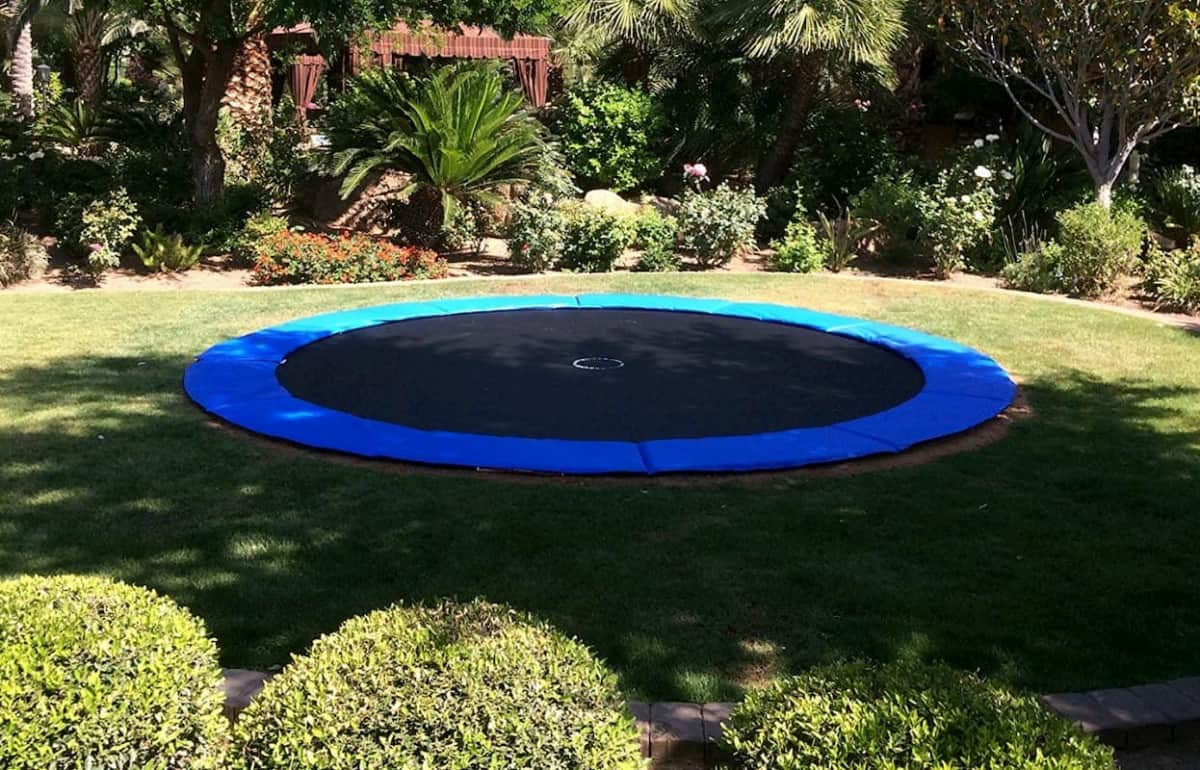 How Safe Are In Ground Trampolines?