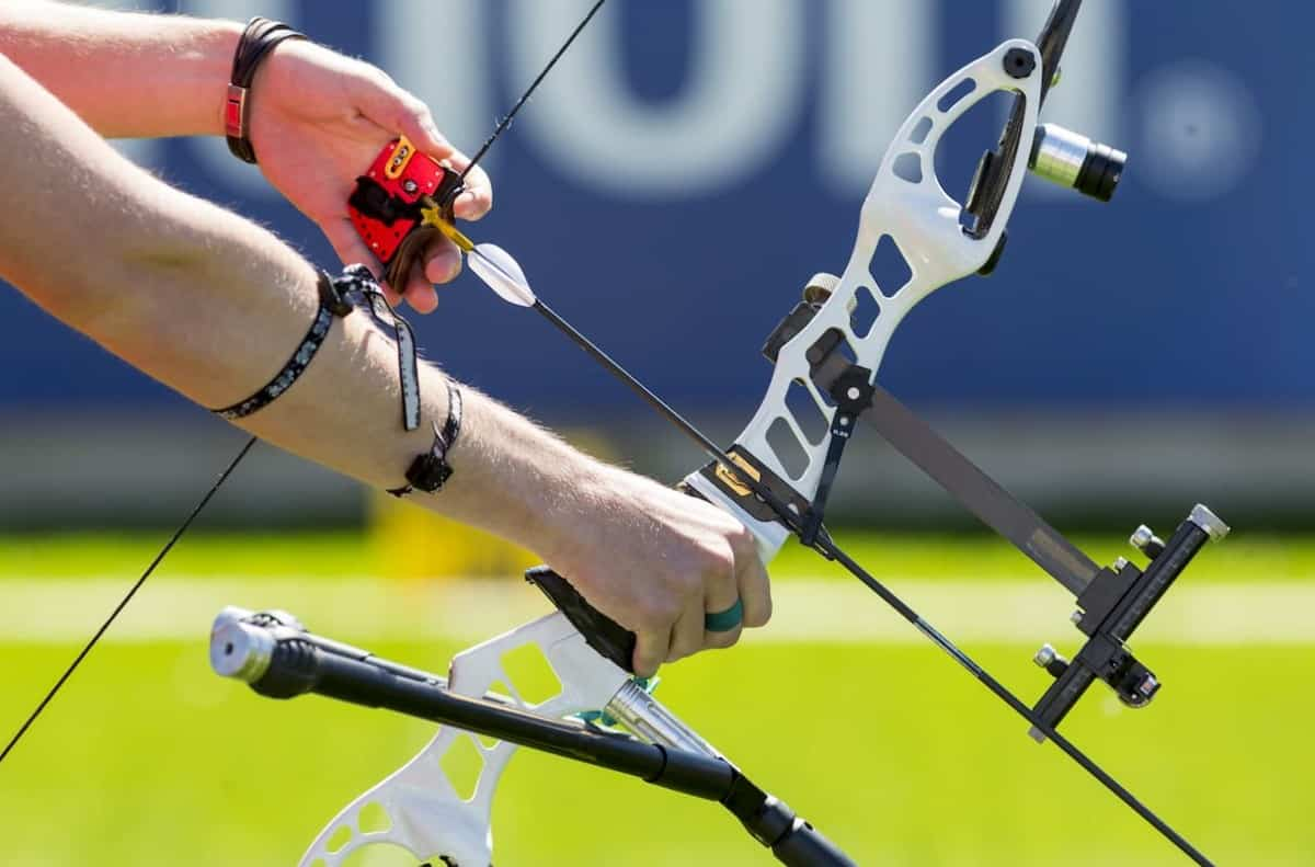 Bow shooting hands only. Active, practice -  What Are the Different Types of Archery Bows