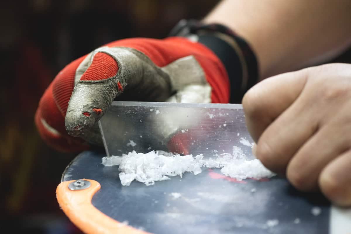 Snowboard repair 2