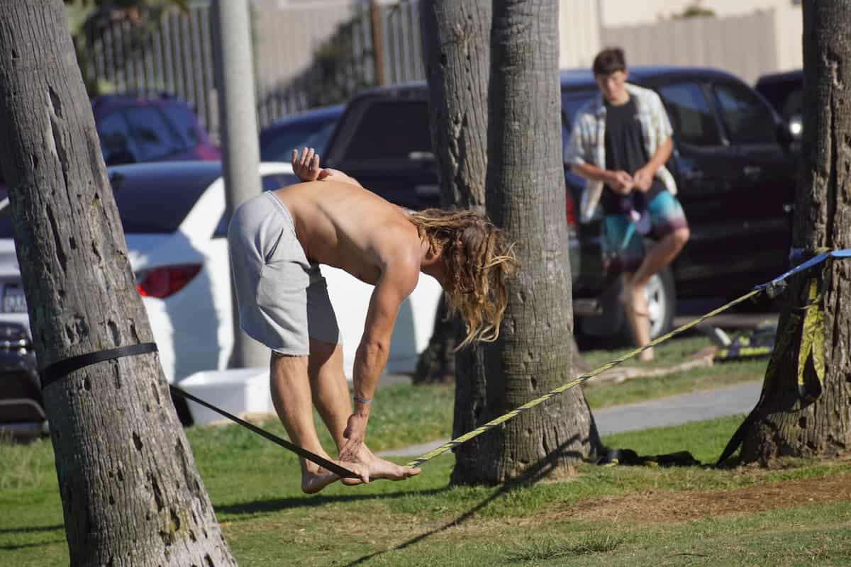 Urbanlining is good exercises with less danger - post about Different Types Of Slacklines