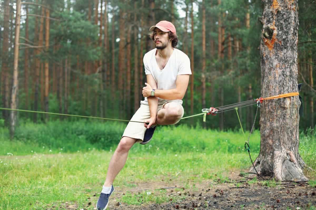 What Is Slacklining? Isn't it Just Like Tightrope Walking