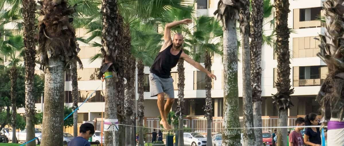 Good Physical Workout - What is the Point of Slacklining?