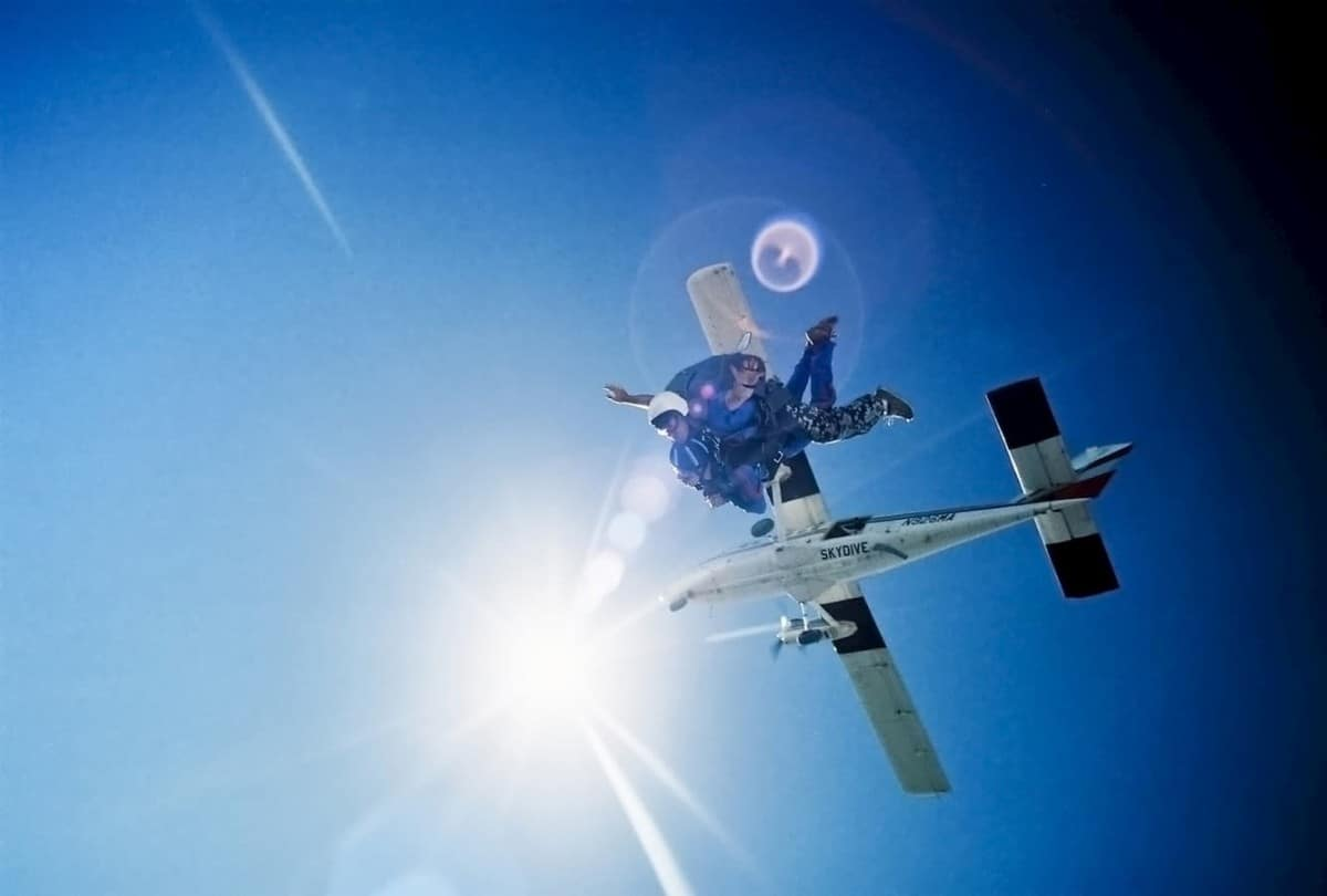 What is Tandem Skydiving? A Thrill Without The Worry!!!